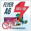 Flyers A6 150x105mm